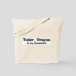Yoder - Hometown Tote Bag