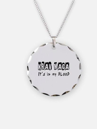 Krav Maga Martial Arts Necklace