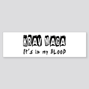 Krav Maga Martial Arts Sticker (Bumper)
