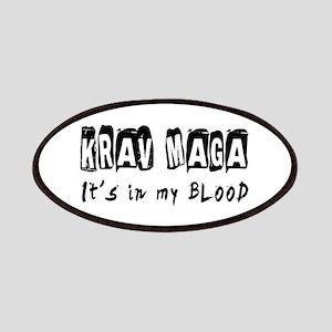 Krav Maga Martial Arts Patches