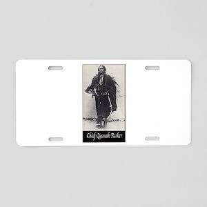 Chief Quanah Parker Aluminum License Plate