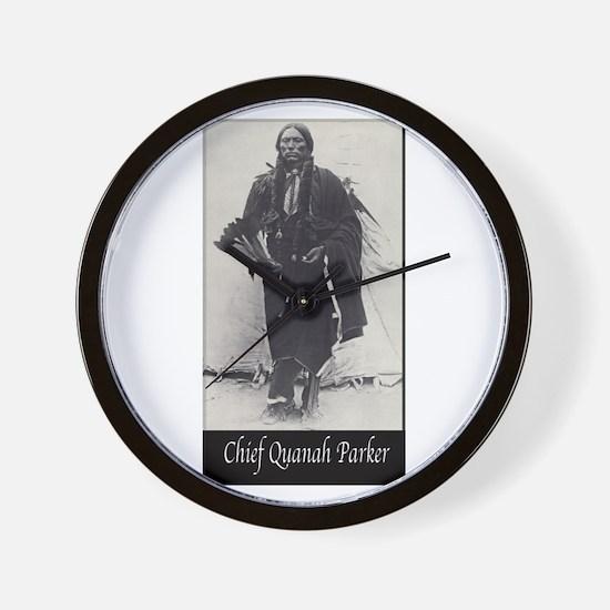 Chief Quanah Parker Wall Clock