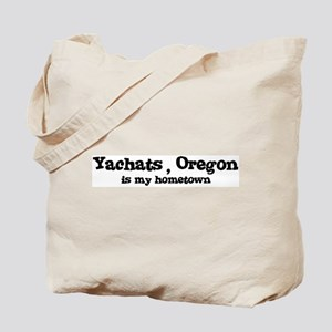 Yachats - Hometown Tote Bag