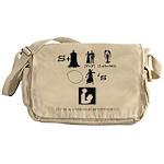 Escape From Mr. Lemoncellos Library Messenger Bag