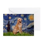 Starry - Golden 1 Greeting Card