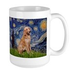 Starry - Golden 1 Large Mug