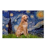 Starry - Golden 1 Postcards (Package of 8)