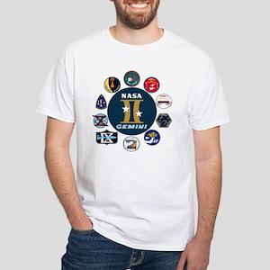 Gemini Commemorative White T-Shirt