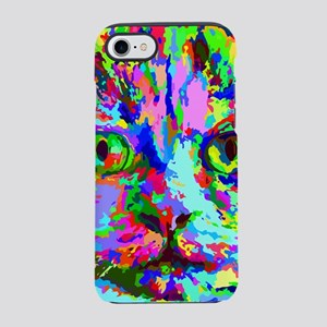 Pop Art Kitten iPhone 7 Tough Case