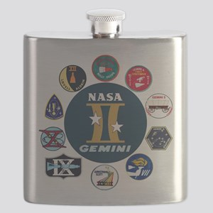 Gemini Commemorative Flask