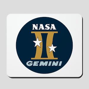 Project Gemini Program Logo Mousepad