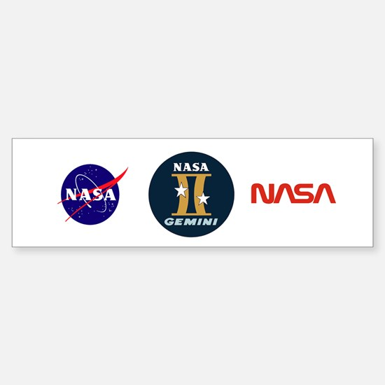 Project Gemini Program Logo Sticker (Bumper)