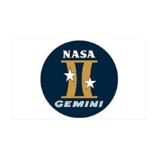 Project Gemini Program Logo Wall Decal