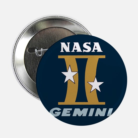 "Project Gemini Program Logo 2.25"" Button"