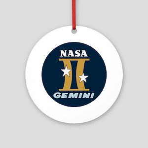 Project Gemini Program Logo Ornament (Round)