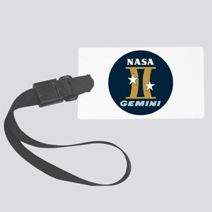 Project Gemini Program Logo Large Luggage Tag