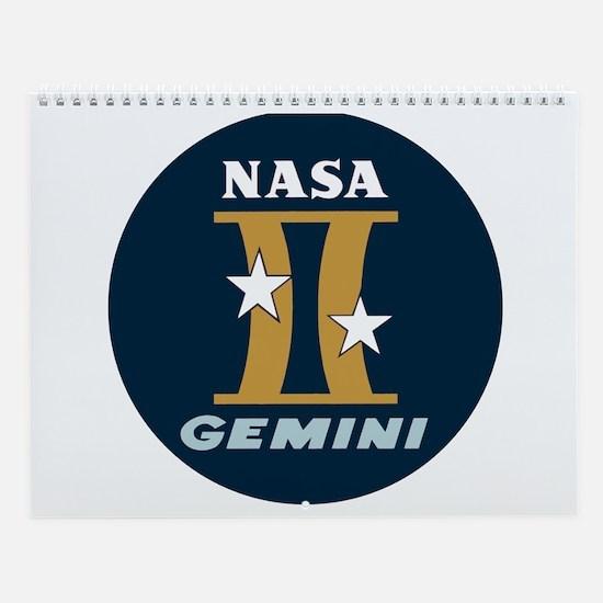 Project Gemini Program Logo Wall Calendar