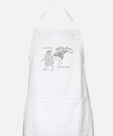 Dances with Wool ... Its all in the Twist Apron