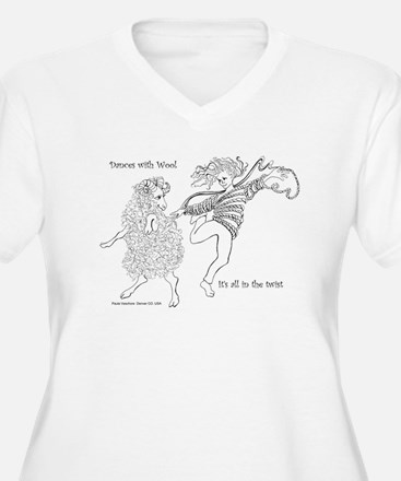 Dances with Wool ... Its all in the Twist T-Shirt