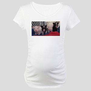 Baby piggies Maternity T-Shirt