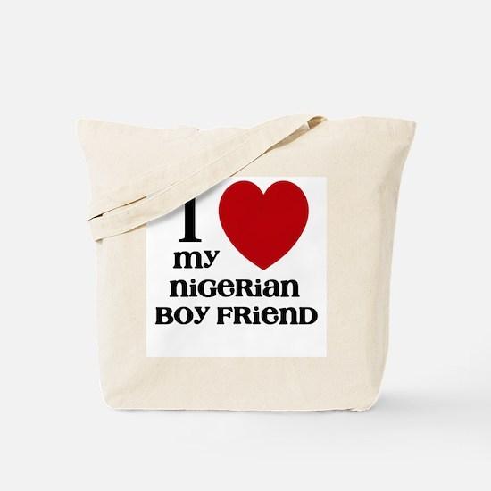 nigerian boy friend Tote Bag