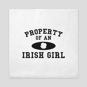 Property Of An Irish Queen Duvet