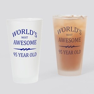 World's Most Awesome 95 Year Old Drinking Glass