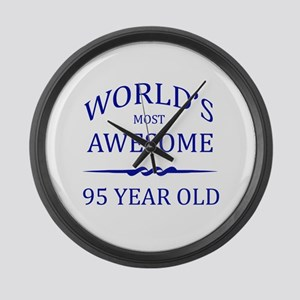 World's Most Awesome 95 Year Old Large Wall Clock