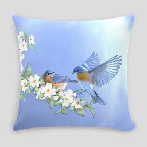 Bluebird Skies Everyday Pillow