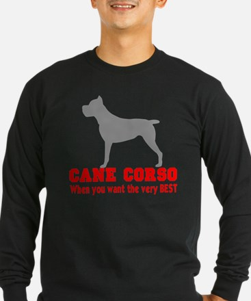CANE CORSO VERY BEST 2 Long Sleeve T-Shirt