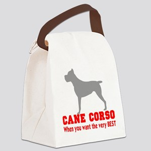 CANE CORSO VERY BEST 2 Canvas Lunch Bag