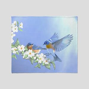 Bluebird Skies Throw Blanket