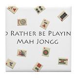 Mahjong Tile Coasters