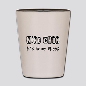 Wing Chun Martial Arts Shot Glass