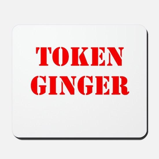 Token Ginger Mousepad