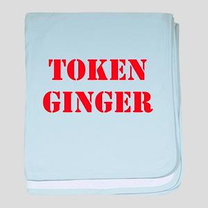 Token Ginger baby blanket