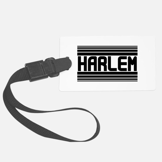 Harlem Luggage Tag