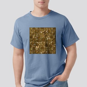 Steampunk Panel, Gears a Mens Comfort Colors Shirt