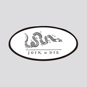 Join or Die Tribute to Benjamin Franklin Patches