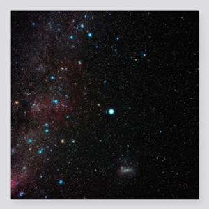 Southern Milky Way - Square Car Magnet 3