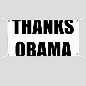 Thanks Obama Banner