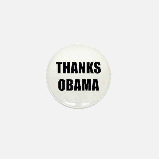 Thanks Obama Mini Button
