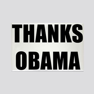 Thanks Obama Rectangle Magnet Magnets