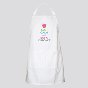 Keep calm and eat a cupcake Apron