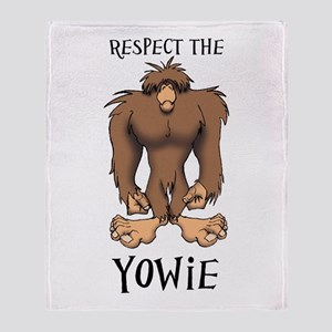 RESPECT THE YOWIE Throw Blanket