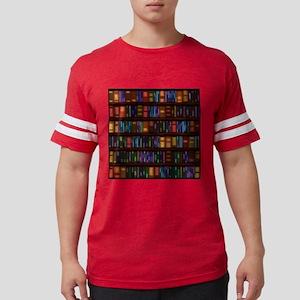 Old Bookshelves Mens Football Shirt