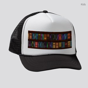 Old Bookshelves Kids Trucker hat