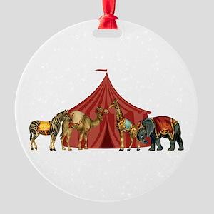 Circus Round Ornament
