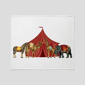 Circus Throw Blanket