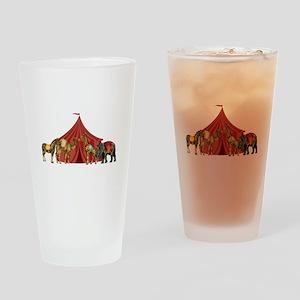 Circus Drinking Glass
